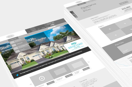 Marz Homes UX/UI & Visual design